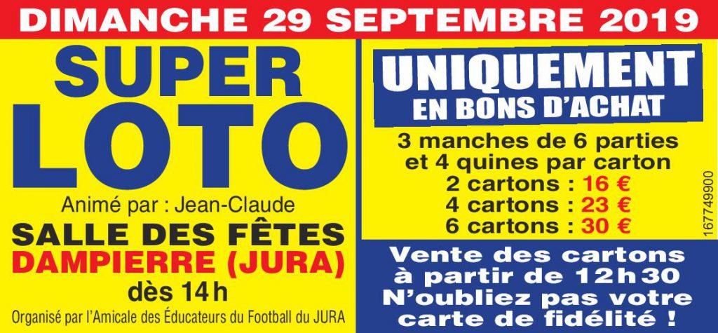 24e Super Loto de l'AEF Jura