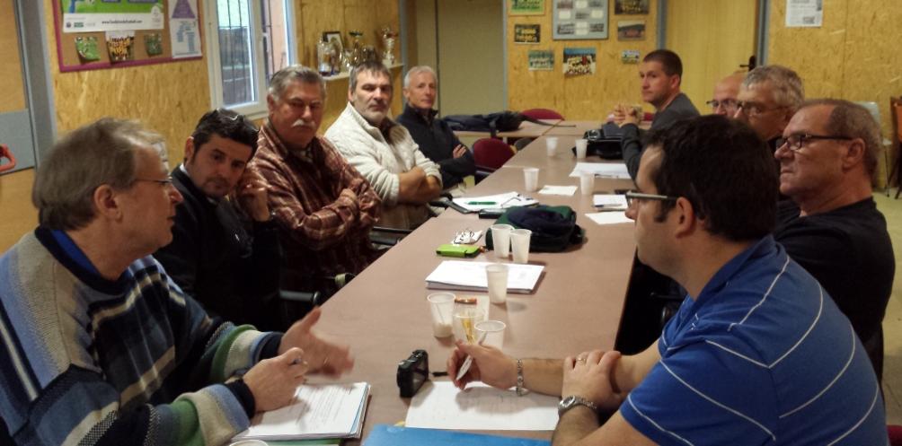Photos de la réunion du bureau départemental