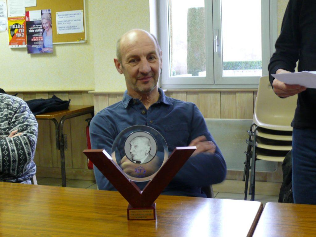 Patrice Anthonioz, Trophée Georges Boulogne 2019