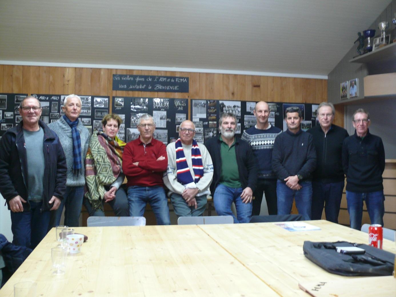 Compte-réunion réunion du bureau départemental
