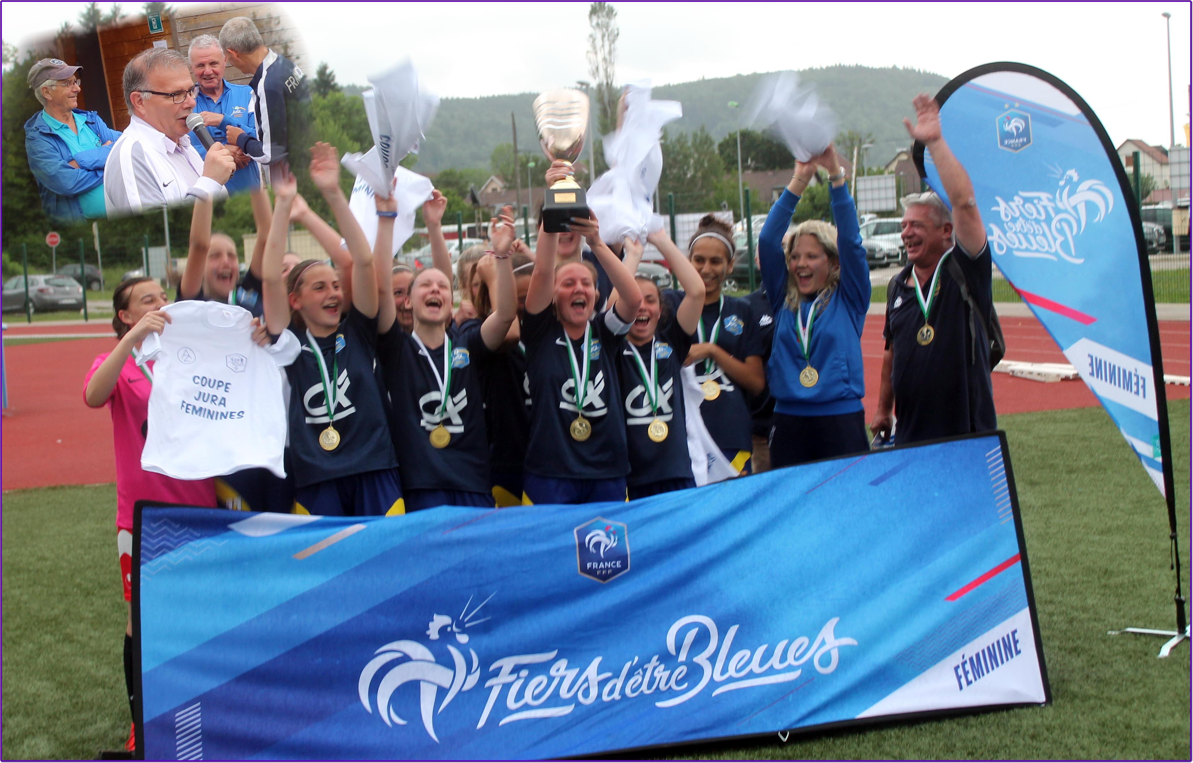 L'AEF Jura récompense les finalistes féminines
