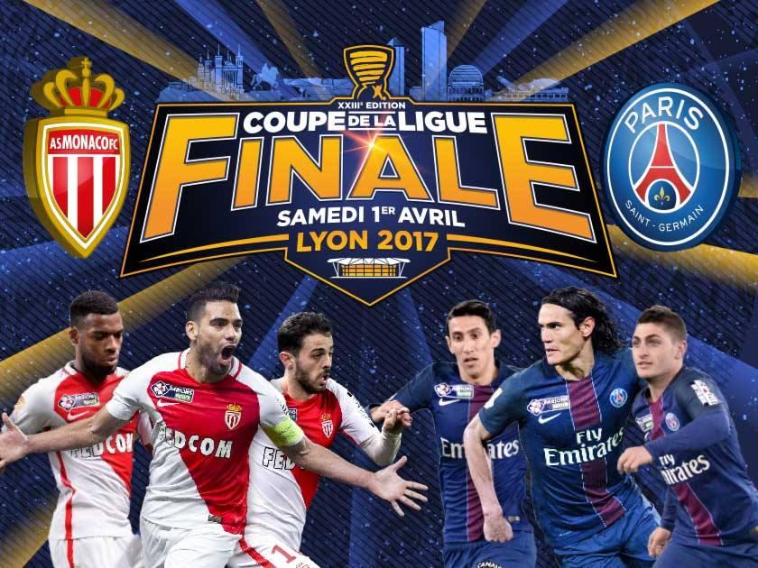 Déplacement pour la finale de la Coupe de la Ligue à Lyon