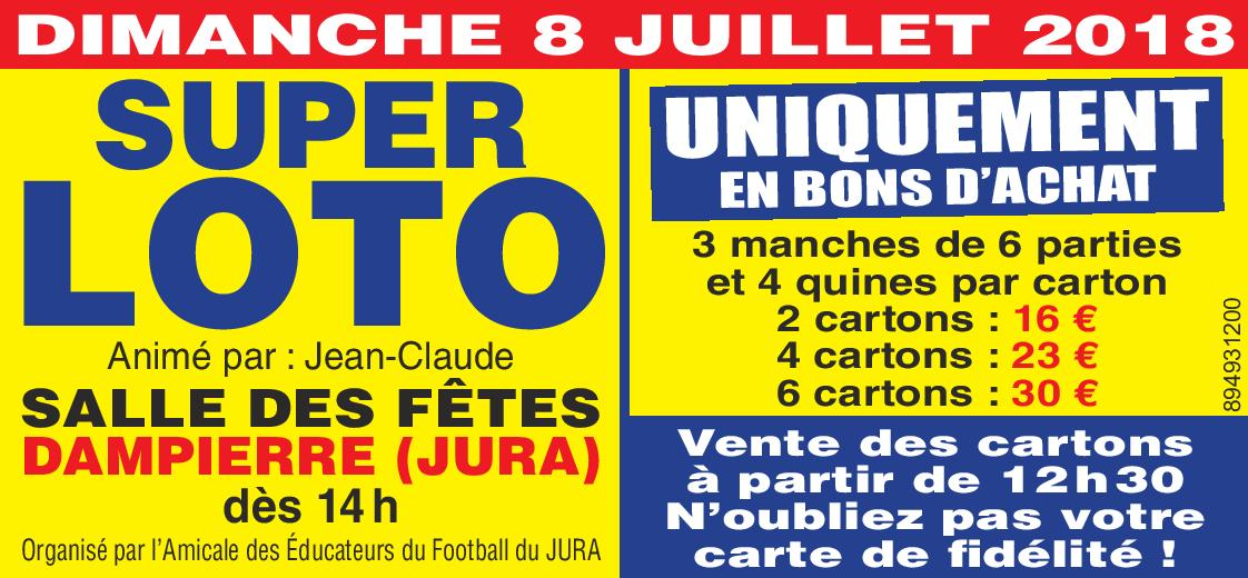 21e Super Loto de l'AEF Jura